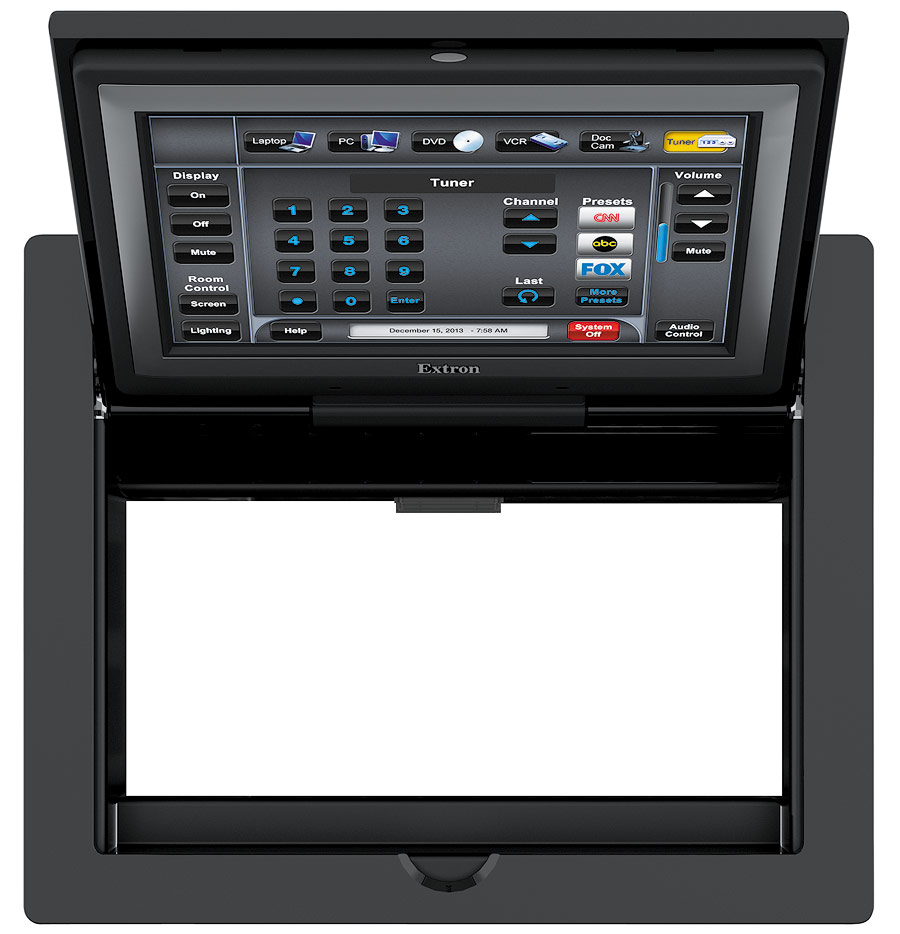 Driver: Extron TLP Pro 720C Touchpanel