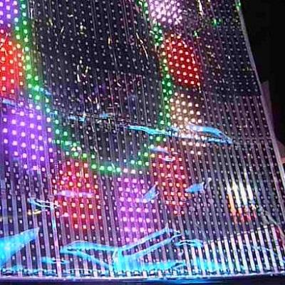 Экран из светодиодных лент своими руками 9